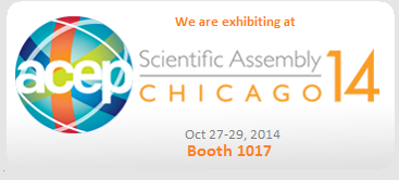 We are exhibiting at Scientific Assembly Chicago, 2014. Booth 1017